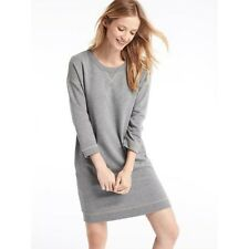 NEW GAP GREY 3/4 SLEEVE SLOUCHY SWEATSHIRT DRESS X SMALL RRP £49.95 SOLD OUT