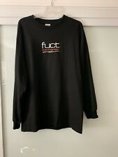 FUCT Los Angeles Long Sleeve Black Graphic T Shirt Size Large