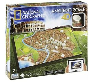 National Geographic Ancient Rome - 570pc Jigsaw Puzzle By 4D Cityscape NEW