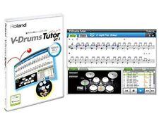 Roland DT-1 V-Drums Tutor Software MAC/Windows New F/S