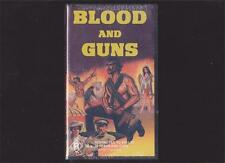 BLOOD AND GUNS  ORSON WELLS MINT SEALED VHS PAL VIDEO A RARE FIND