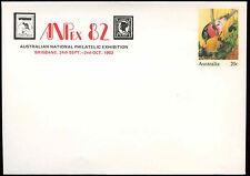 Australia 20c Bird Rose Robin Optd Anpex82 Pre-Paid Envolope Cover Unused#C18691