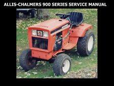 Allis Chalmers 900 Tractor Workshop Service Manual -250pg for Overhaul & Repair