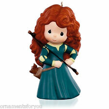 Hallmark 2015 Princess Merida Brave Disney  Porcelain Ornament