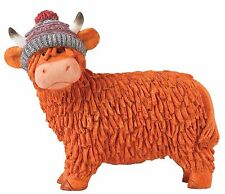 Fiona Hairy Coos Border Fine Arts Highland Cow Figurine Ornament 8cm A27508