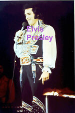 ELVIS PRESLEY GYPSY SUIT UNIONDALE NY 7/19/75 ORIGINAL OLD KODAK PHOTO CANDID A