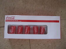 Kurt Adler Coca Cola Mini 10 Light Can Light Set-NIP