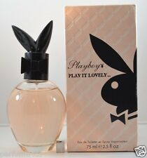 Play It Lovely by Playboy Perfume - Coty for Women 2.5 oz 75 ml - EDT - NIB