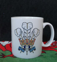 Welsh Mug - Prince of Wales feathers