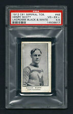 PSA 4.5 1912 C61 LaCROSSE CARD #48 HENRY SCOTT