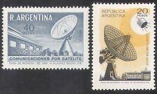 Argentina 1969 Radio/Satellite/Dish Aerial/Communications/Telecomms 2v (n39627)