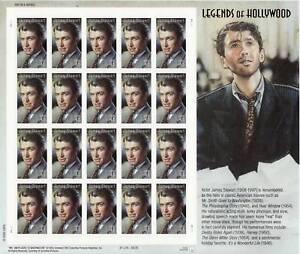 JAMES JIMMY STEWART STAMP SHEET -- USA #4197 41 CENT 2007 LEGENDS OF HOLLYWOOD