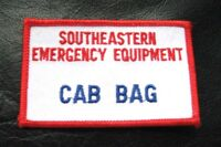 SOUTHEASTERN EMERGENCY EQUIPMENT CAB BAG EMBROIDERED SEW ON ONLY PATCH