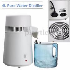 Home Dental/Medical 4L Water Pure Distiller Purifier Filter 304 Stainless Steel
