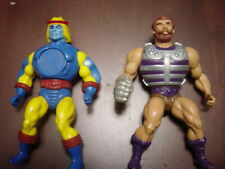 Masters of the Universe MOTU HE-MAN VINTAGE  FISTO AND SY-KLONE - LOOSE