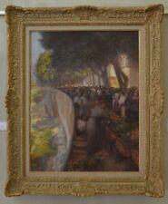 """AUDRA Paul (1869-1948) """"Marché sur le quai à Nice"""" Matisse Var Provence Cannes"""