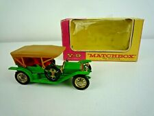 VINTAGE 1970 MATCHBOX Y9 1912 SIMPLEX WITH ORIGINAL BOX