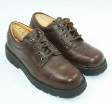 Timberland Mens Brown Leather Brogues Oxfords Shoes Size 10.5M
