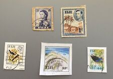 FIJI USED MIXED POSTAGE STAMPS
