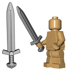Viking sword for Lego minifigures accessories