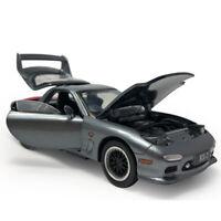 Mazda RX-7 1/32 Die Cast Modellauto Auto Spielzeug Model Sammlung Kinder Grau