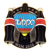 """ZIPPO BALLON """"SPECIAL SHAPE"""" Pin / Pins - WIM 2010 mit COCA COLA [3728]"""