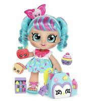 Kindi Kids Jessicake and Backpack With Big Glittery Eyes My Head Bobbles NEW UK