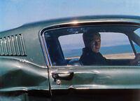 STEVE McQUEEN 1968 Bullitt 8x10 DODGE CHARGER /& FORD MUSTANG color still #37