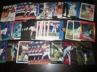 Huge Lot of (50) John Smoltz Baseball Cards HOF Braves