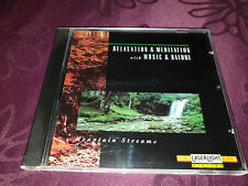 CD Relaxation & Meditation with Music & Nature / Mountain Streams - Album