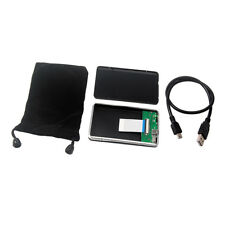 """USB 2.0 to 1.8"""" CE ZIF Hard Drive Disk HDD Aluminum Enclosure External Case"""