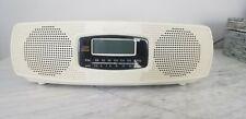 Sony Am/Fm Clock Radio with Cd Player Model Icf-Cd820