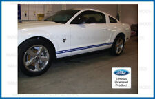Ford Mustang Rocker Panel Side Stripe Door Decal - D - strip both sides L and R