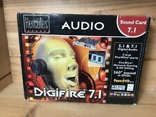 Hercules Audio Sound Card Digifire 7.1 in box new! Rare!