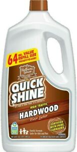 QUICK SHINE Hardwood Floor Luster and Polish 64 oz