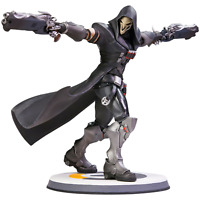 "Overwatch Reaper 12"" Tall Polystone Statue Figure - Official Blizzard Blizzcon"
