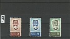 CYPRUS 1964 EUROPA CEPT set MNH. Catalog value 80 euros.