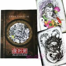70 Pages A4 Tang Traditional Tattoo Art Flash Sketch Line Book Manuscript Supply