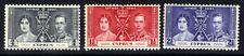 Cyprus 1937 KGV1 Set Coronation MM SG 148 – 150 ( D911 )