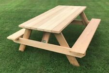 Plans to Build Traditional Picnic Table (digital format)