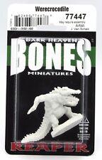 Reaper 77447 Bones Werecrocodile (1) Miniature Were-Crocodile Alligator Gator