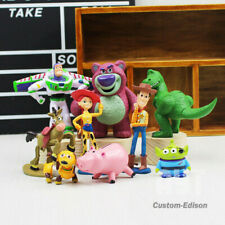 9Pcs Figures Light Toy Story 3 Action Doll Woody Buzz year Rex Toy For Kids Gift