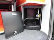 Corner Camper Van Gas Locker without gas fitting kit