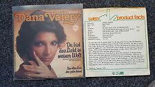 Dana Valery - Du bist das Licht in meiner Welt 7'' Single PROMO SHEET