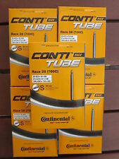 Continental Race 28 Road Bike Tubes 700C 19/25mm 80mm Valve 5 Pack *New*