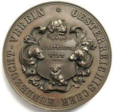 [R1747] Medaille 1885, Österreichischer Hundezucht Verein, Ausstellung Wien