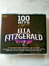 CD - ELLA FITZGERALD 100 HITS LEGENDS  (TWEEDE-HANDS / USED / OCCASION)