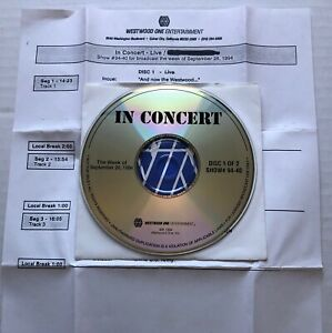 LIVE Westwood One In Concert LIVE RADIO SHOW CD Cues #94-40 Ed Kowalczyk