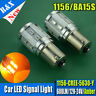 2X1156 7506 BA15S Samsung 5630 LED + CREE XPE High Power LED Amber Projector Len