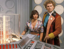 Colin Baker and Nicola Bryant UNSIGNED photo - H8050 - Doctor Who